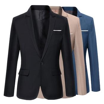 Korean Slim-Fit Cotton Blazers