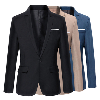 Nowe mody przypadkowi mężczyźni Blazer bawełna szczupła Korea stylowy kombinezon Blazer Masculino garnitury męskie kurtki Blazers mężczyźni odzież rozmiar M-5XL tanie i dobre opinie NoEnName_Null POLIESTER COTTON BIZNESOWY Na co dzień Wiosna i jesień REGULAR CN (pochodzenie) Jednorzędowe Marynarki
