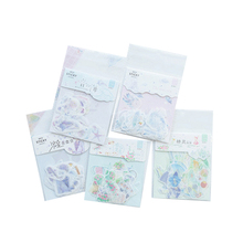 40pcs/lot Cartoon Painted Dream Series Paper Lable Stickers Scrapbooking Adhesive DIY Diary&Album