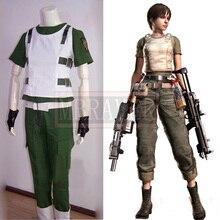 Resident Evil cero Rebecca cámaras animado por encargo del uniforme del traje de Cosplay