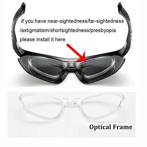 Image 3 - الاستقطاب حملق النظارات الشمسية الرجال النساء 5 في 1 الرياضة في الهواء الطلق النظارات البصرية وصفة طبية إطارات نظارات نظارات
