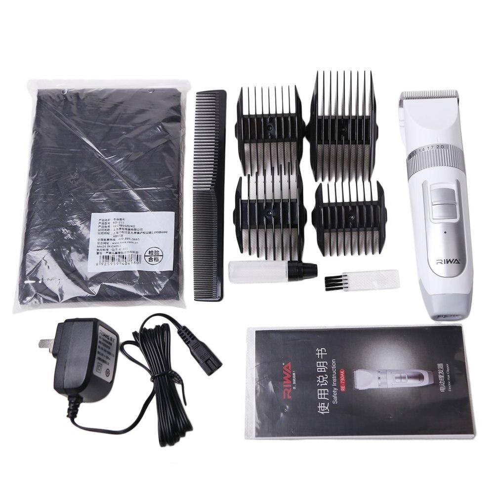 RIWA RE 730AK Electric Hair Clipper Cutting Hair Machine Children Adult Portable Rechargeable Hair Trimmer Clipper