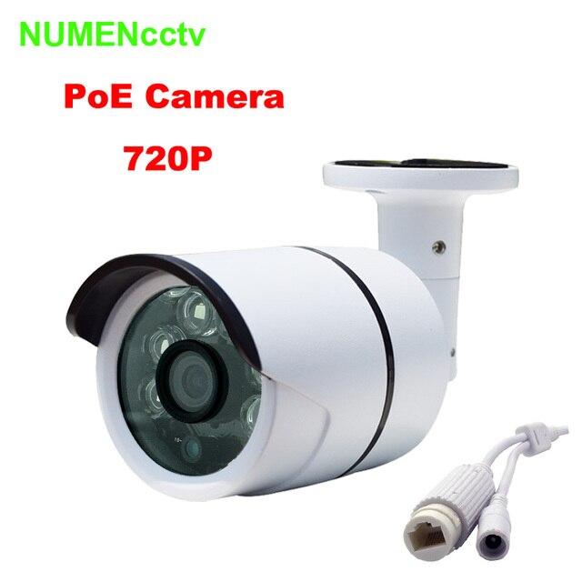 Водонепроницаемый 1280*720 P HD ONVIF iCloud Веб-Камера Мини Безопасности IP Cam ИК Ночного Видения Камеры Крытый