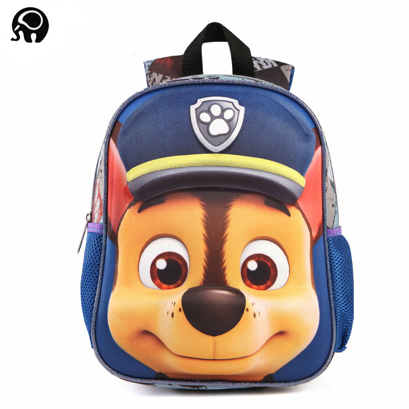 2018 Cartoon 3D Bags for girls backpack kids Puppy mochilas escolares infantis children school bags School knapsack Baby bags ableme new 2017 children schoolbag backpack mochilas escolares infantis large waterproof comfotable children school bag backpack