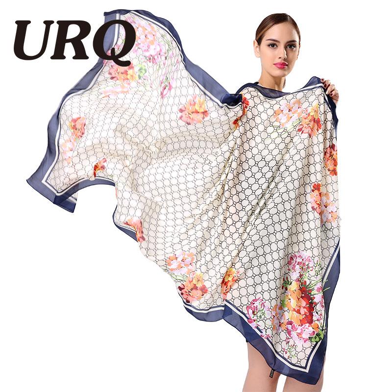 [URQ] Newest Design Scarf Printing SpringScarf Women Shawls Soft silk Scarves Brand Scarf Woman Wrap S9A18764