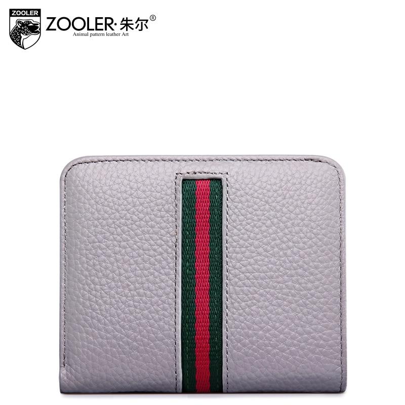 ФОТО ZOOLER 2017 hot fashion women wallets genuine leather purses new lady mini-bag cowhide card holder classic wallet luxury#5328
