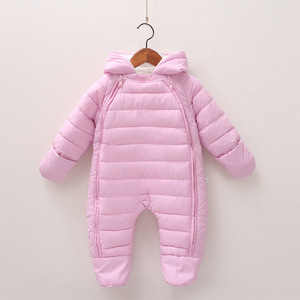 Image 3 - 2020 Spring Baby Girls Romper Warm Winter Kids Boy Jumpsuit Clothes Autumn Fleece Infant Onesies Unisex Newborn Overalls