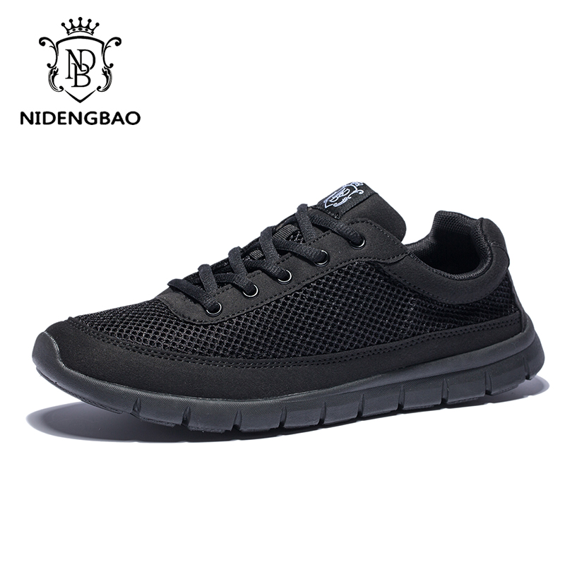 Brand Shoes Men Casual Breathable Lace-Up Walking Footwear - Men's Shoes - Photo 2