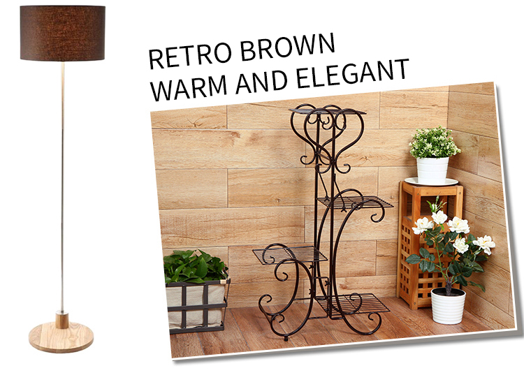 c6b0bb8a6ea5 4 Tier Plant Pot Stand Rack Metal Browse Flower Pots Trays Holder ...