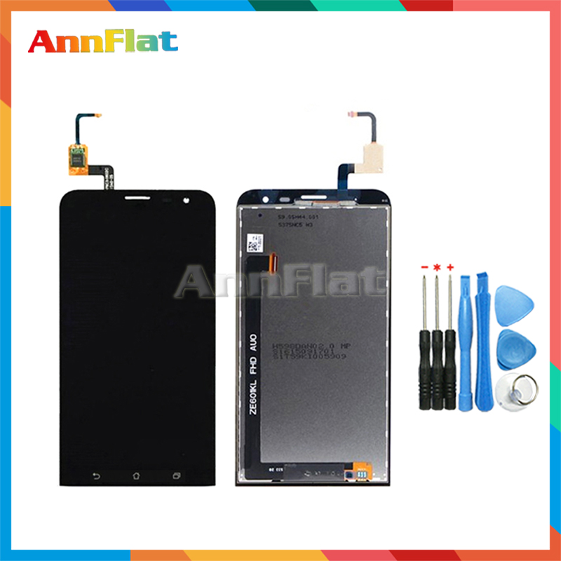 High Quality 6.0'' For ASUS Zenfone 2 Laser ZE601KL Z011D LCD Display Screen With Touch Screen Digitizer Assembly