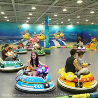 2018 New Amusement Device Park Equipment Laser Shooting Battery Operated Collision Bumper Cars For Kids and Adult