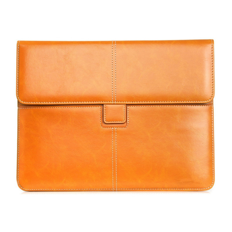 New Universal Business Bag For Men and Wowen Pouch With Card Holder For 8 inch 10 Inch Tablet Computer Bags Genuine Leather kitavt75417unv10200 value kit advantus id badge holder chain avt75417 and universal small binder clips unv10200