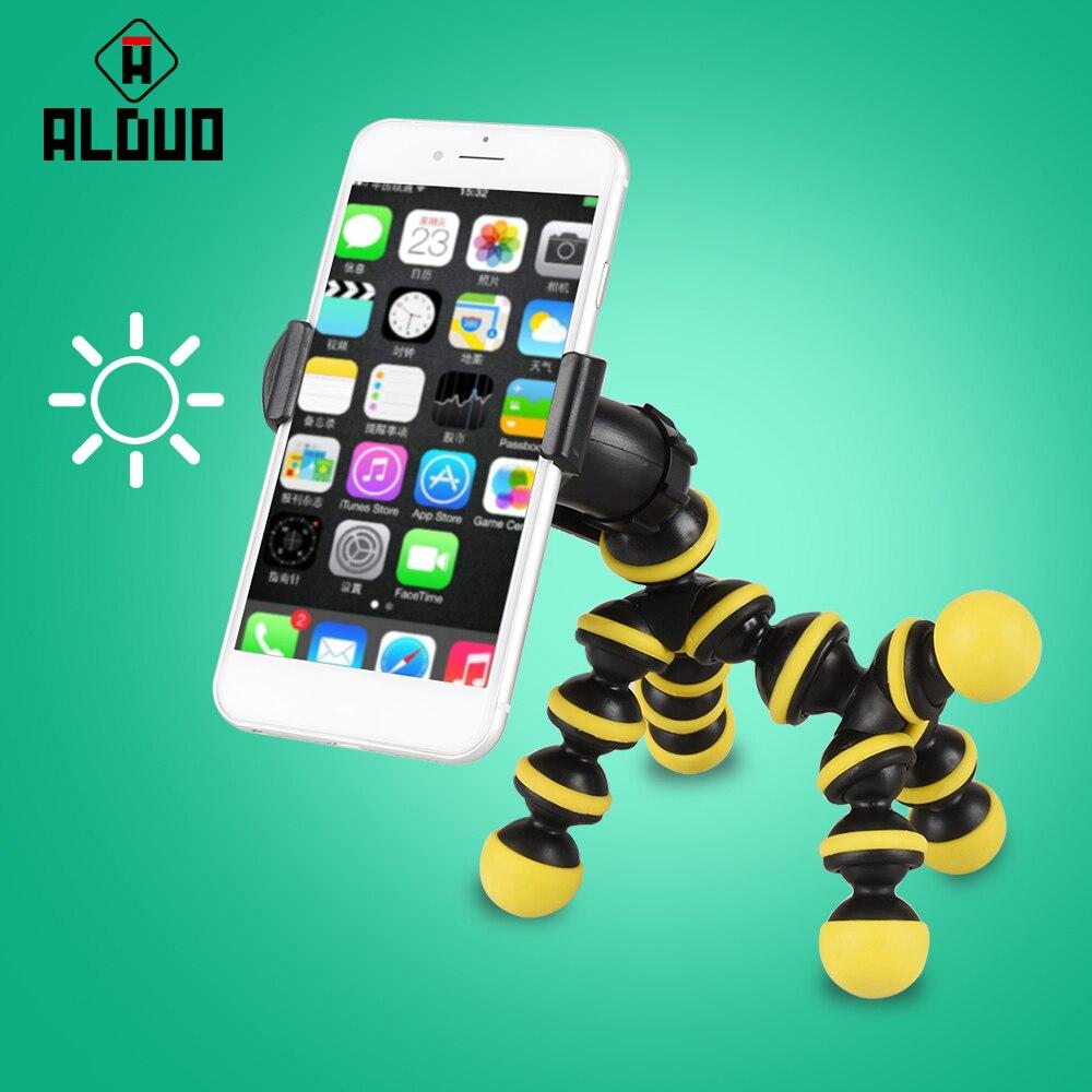 ALANGDUO 3D Cartoon Horse Shape Mobile <font><b>Phone</b></font> Holder <font><b>Stand</b></font> Display Support Flexible Universal Car Mobile <font><b>Phone</b></font> Holder For Xiaomi
