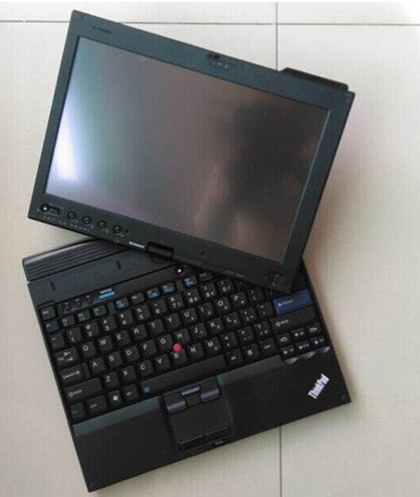 Авто диагностики ноутбука x201t i7 планшет с оборудования sd подключения c4 и icom для bmw с программным обеспечением SSD 1 ТБ для bwm/mb диагностический