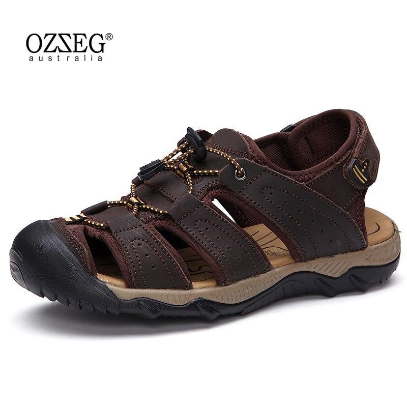 vietnam shoes hook loop Outdoor summer sandals for man 2018 ashionable casual male sandals slip-resistant hombre sandalias