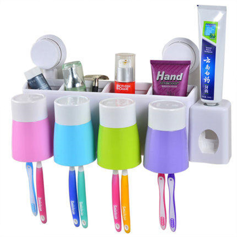 Wall Suction Toothbrush Holder Wall Toothbrush Holder ...