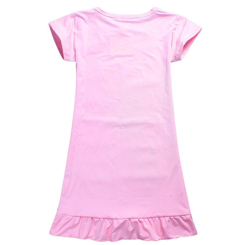 be14258a9 pj masks Girls Dresses 3 8 Years Kids Cotton Short Sleeve Girls 2017 Summer  Child Dress Clothing Baby Toddler Girls Vestidos-in Dresses from Mother &  Kids ...