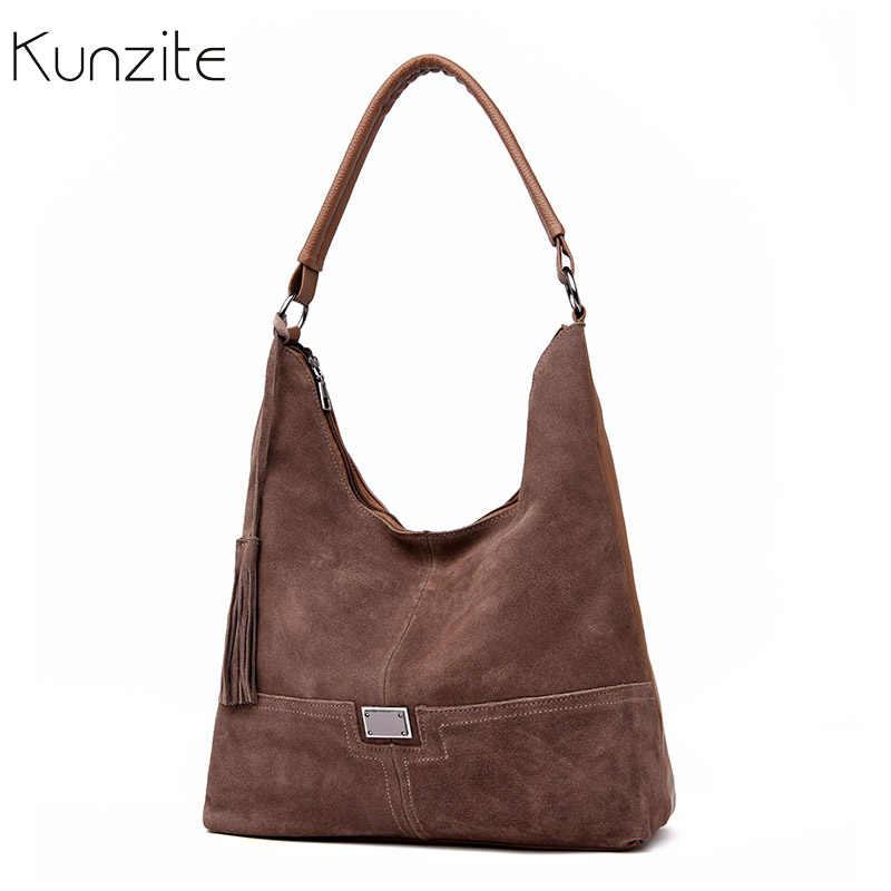 Fashion Winter Suede Leather Women Bags 2018 Ladies Handbags Designer  Luxury Female Shoulder Bags Famous Brand 9d67090231ca8