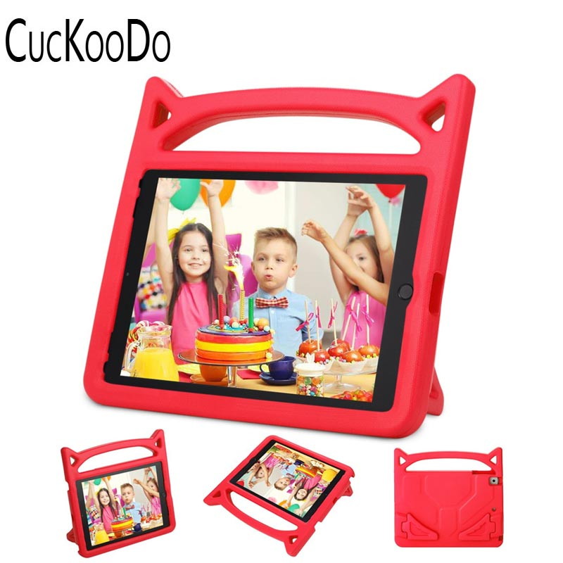 CucKooDo [Shockproof] Case Light Weight Kids Friendly Case Super Protection Cover Handle Stand Case for Apple iPad Mini 1/2/3/4