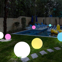 Rechargeable Remote Control Garden Ball Lights Waterproof Lawn Lamps LED Balls illuminated Outdoor Night Lights Decoration rechargeable remote control garden ball lights waterproof lawn lamps led balls illuminated outdoor night lights decoration