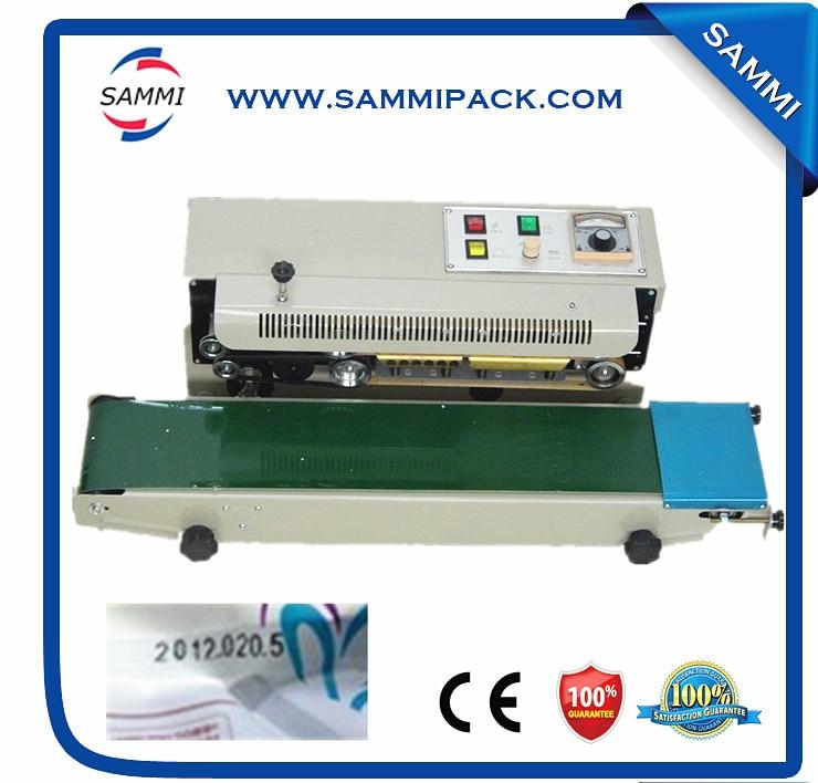 Automatic Horizontal Continuous Plastic Bag Band Sealing Sealer Machine FR900  цены
