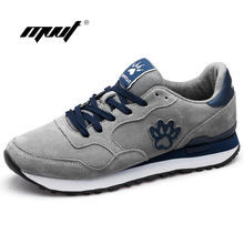 Genuine Leather Suede men Shoes Sport Fashion Men Casual shoes Breathable Walking Mens Trainers Chaussures Hombre Femme