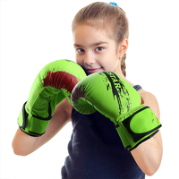 9 Color Child Kids Graffiti Boxing Gloves Fighting Kickboxing Gloves Training Gloves Punching Bag Gloves Guantes