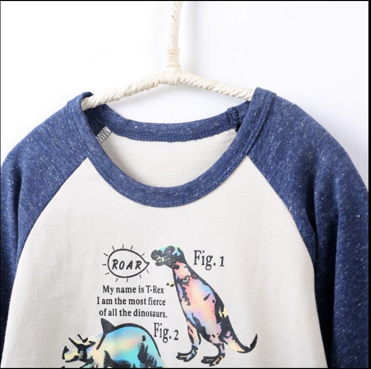 2-7-years-Boys-T-shirt-Kids-Tees-Baby-Boy-brand-t-shirts-Children-tees-Long-Sleeve-100-Cotton-cute-dinosaur-shirts-2