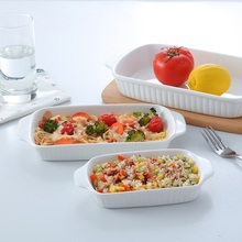 Guci Ceramic mold baking oven baked rice dish special cheese pizza pasta Western-style food household utensils