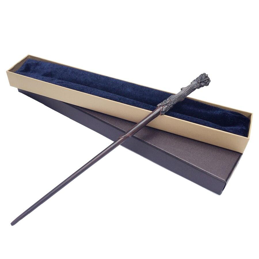 Colsplay Metal Core la más nueva calidad de lujo cos Harry Potter varitas mágicas/stick con caja de regalo de embalaje