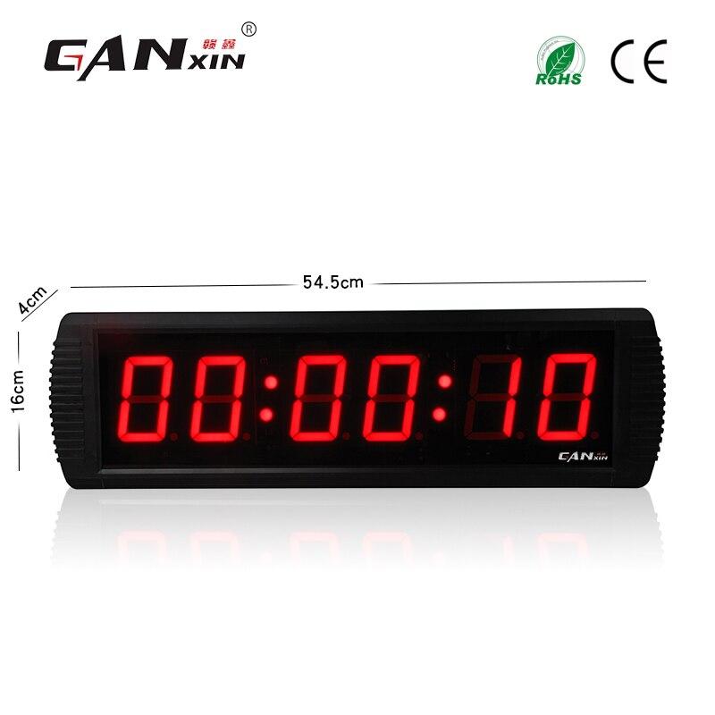 [Ganxin] télécommande 3 ''compte à rebours minuterie horloge murale
