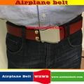 2017 mens vaca cinturones de cuero genuino correa masculina de la marca de lujo para los hombres 4 colores cintos masculinos aviones hebilla envío libre