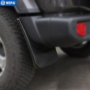 Image 2 - Momai garde boue pour Jeep Wrangler JL 2018, garde boue avant et arrière, accessoires garde boue