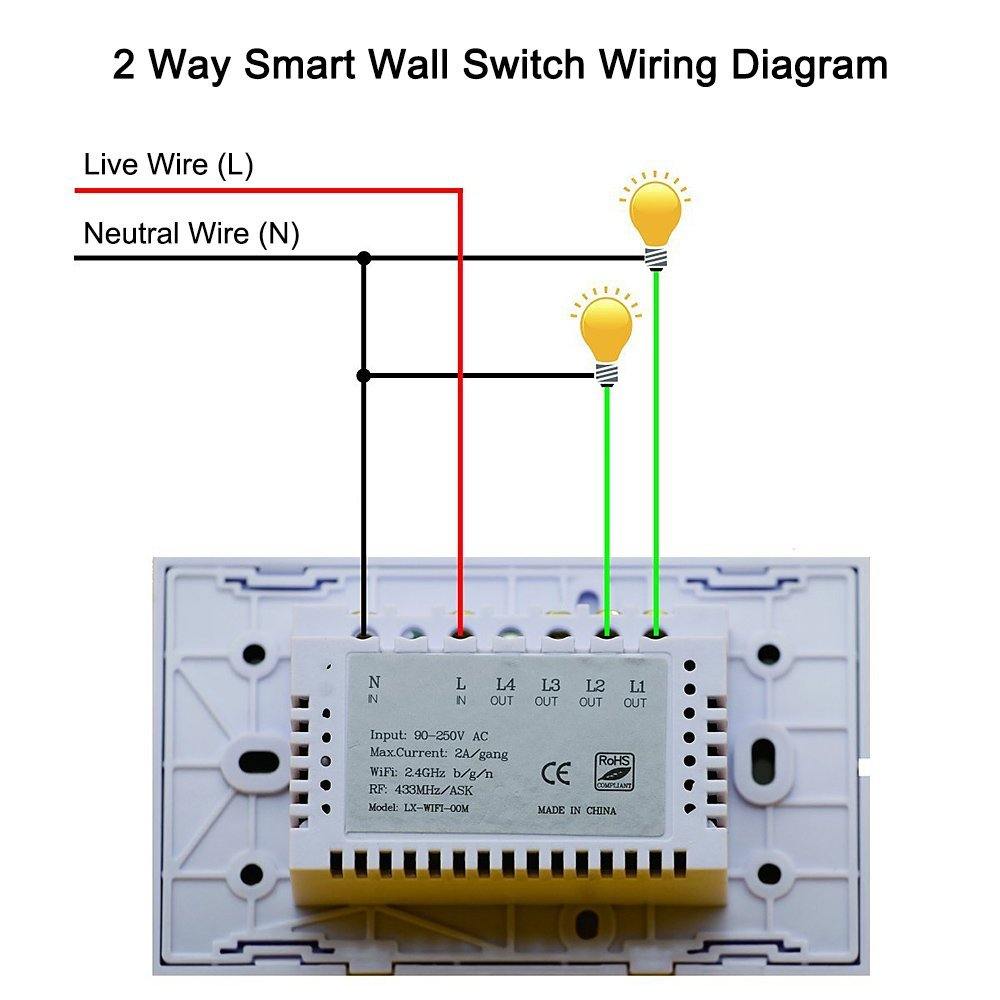 Wiring Smart Touch Switch Trusted Diagrams Diagram Light House Symbols U2022