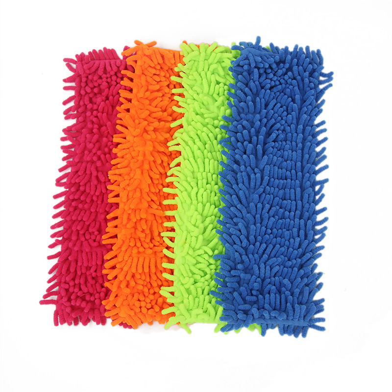 4PCS Microfiber Cloth Mop Head Replace The Cloth Floor Cleaning Cloth The Mop To Replace Cloth Household Cleaning Tool Accessory