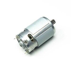 Image 2 - Silnik RS550 14 zębów 9.6V 10.8V 12V 14.4V 16.8V 18V przekładnia 3mm wał do wkrętarki akumulatorowej