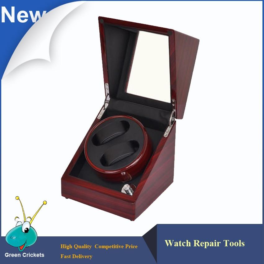 503046 D Single High Gloss Cherry Wood Automatic Watch Winder Wooden Ultra quiet motor Watch Winder