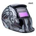 Solar Powered Auto Darkening Electric Welding Helmet Welder Cap Lens Protection Grinding Lens Tig Mask