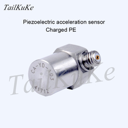 Vibration Shock Test Accelerometer CA-YD-103 Charge Vibration Sensor Induction Frequency