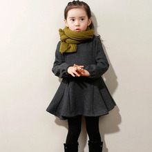 Baby Girls Dress Spring Autumn Kids Clothes Long Sleeve Casual Cotton Girl Clothing Children Princess Dress 3 4 5 6 7 8 Years autumn clothes for baby girls children long sleeve cotton clothing fall girls dresses kids clothes toddler girls wear 7 8 years