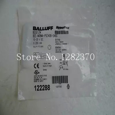 New original authentic BALLUFF sensor switch BES M08MI-PSC40B-S49G spot --2PCS/LOTNew original authentic BALLUFF sensor switch BES M08MI-PSC40B-S49G spot --2PCS/LOT