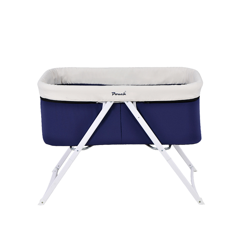Pouch Baby Crib, European Children's Bed Multifunctional Rocking Bed, Baby Bed, Foldable Portable Cradle Bed