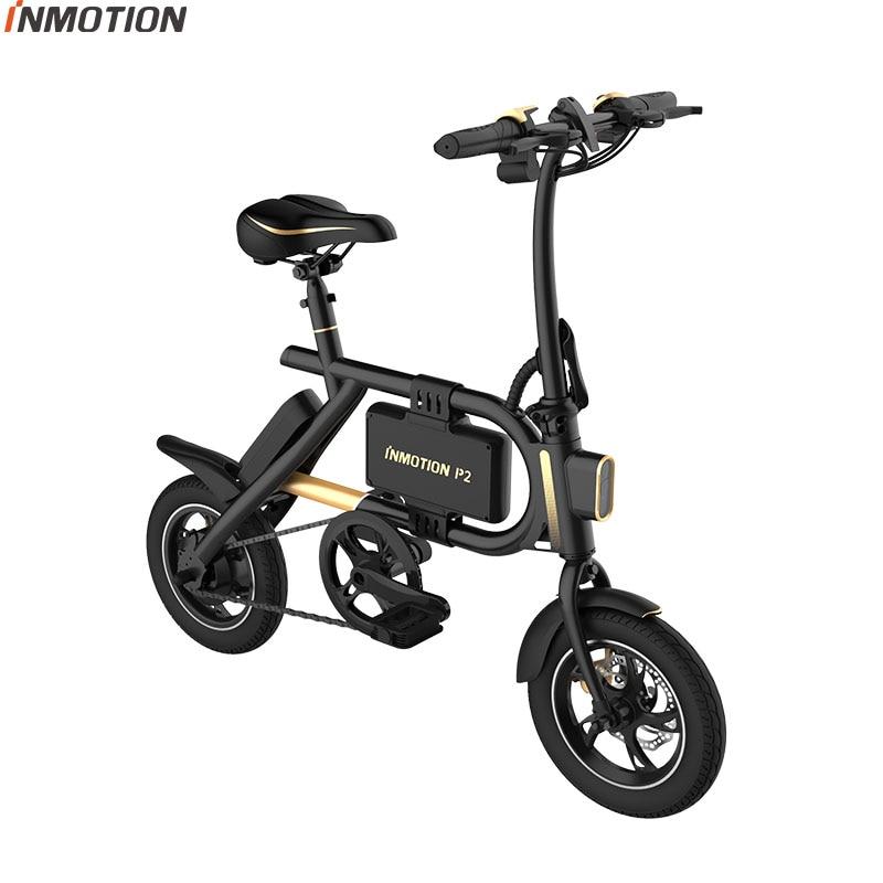 INMOTION P2 EBIKE Faltrad Mini Fahrrad Elektrische Roller Lithium-ionen Batterie 350W CE RoHS FCC