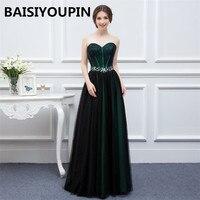 Evening Long Dress Robe Soiree Longue Femme 2019 Sexy Black Prom Dress Elegant Formal Dresses Evening Wear