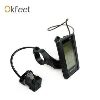 okfeet Bicycle Display C965 for 8fun Mid Drive Motor BBS01 BBS02 BBSHD Bafang C965 LCD Display