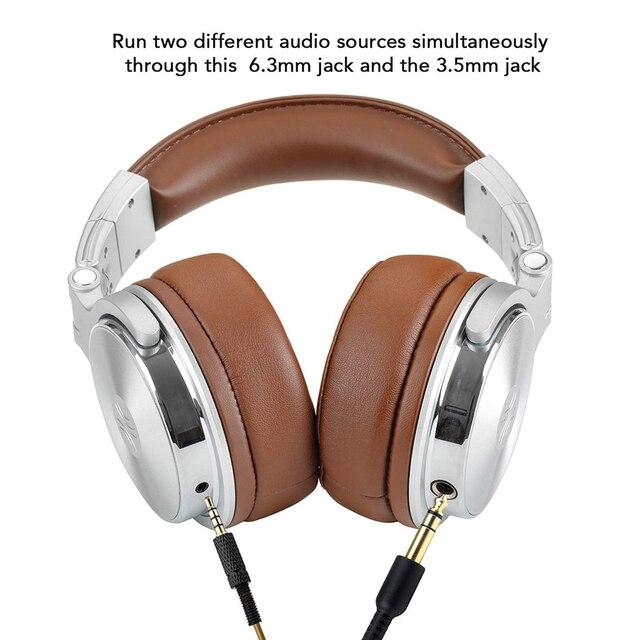 Podcast Professional Studio Dynamic Stereo DJ Headphones  2