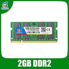 VEINEDA Sodimm DDR2 2GB 800 ddr2 notebook 2GB 667 for Intel amd mobo Support ram ddr2 Laptop 2gb pc533