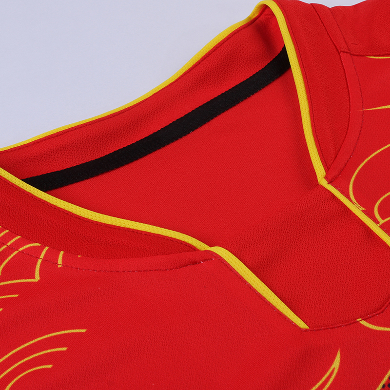 Free Printing CHINA Dragon table tennis sets Men or Women ping pong wear Dry Cool table tennis clothes table tennis suits in Tennis Shirts from Sports Entertainment