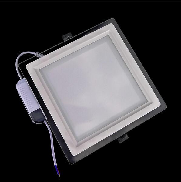 Led-flächenleuchten Selbstlos 6 Watt 12 Watt 18 Watt Dimmbare Led-panel Licht Platz Glas Led Downlights Decke Einbau Lichter Episar Smd5730 Chip Lampen Ac85-265v