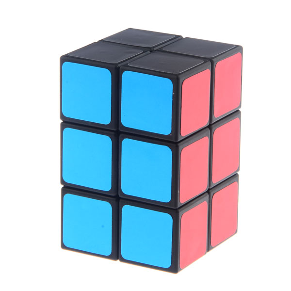 Brand New 2x2x3 Cube Twist Tower Shaped Magic Cube Black Educational Toy Special Toys
